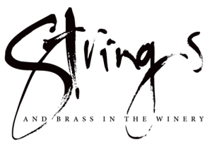 Strings and Brass in the Winery logo