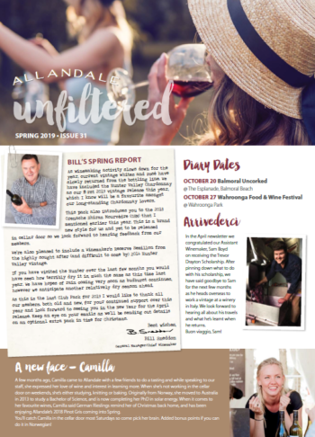 Unfiltered October 2019 (Cover)